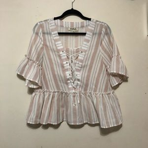 Listicle Baby Doll Blouse